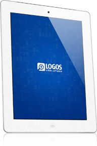 Logos Bible study software — in my humble opinion it's the best.     Win an iPad loaded with Logos Bible Software and copy of Glorious Ruin, courtesy of David C. Cook
