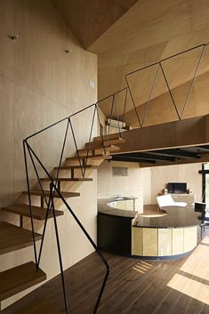 Villa Escargot , Prefettura di Chiba, 2014 - Takeshi Hirobe Architects #staircases