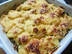 Aardappel ovenschotel met gehakt en boursin