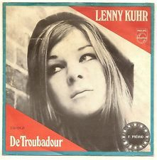 "Lenny Kuhr - ""De Troubadour"", one of the four winning Songs of the Eurovision Song Contest 1969 for the Netherlands"
