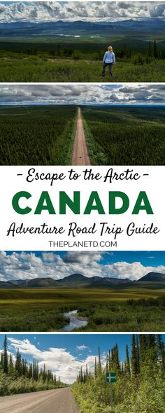 If you're looking for the ultimate road trip adventure, look no further than the Dempster Highway in Canada. This 700km stretch of road leads into the Arctic Circle and is just about as remote as it gets. Adventure travel in Canada. | Blog by the Planet D #Travel #Canada