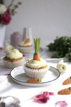 Fraeulein Meer backt Ruebli Cupcakes