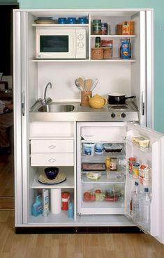 Genius tiny house kitchen ideas (34)