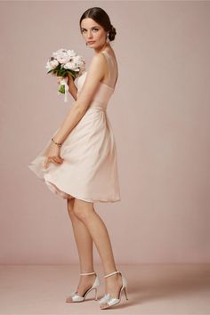 Ainsley Dress in Bridal Party & Guests View All Dresses at BHLDN.  This color and the dress!