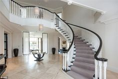 Terry's new property boasts seven bedrooms, six bathrooms, four reception rooms and a grand stairway. These photographs show its interior before it underwent an extensive top-to-bottom refurbishment by Terry