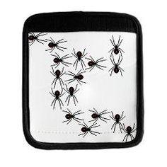 Creepy Crawly Spiders Luggage Handle