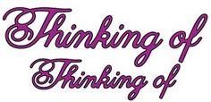 Cheery Lynn Designs - Thinking Of Phrases