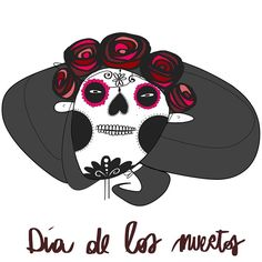 This is my Faccina for Dìa de los muertos. I love this tradition and this is my tribute to it! Hope you like it.