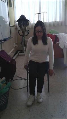 18. Levantarse de una silla (usuario independiente)