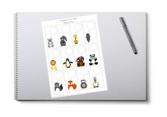 Mini Notes with Speech Pals Just For Fun, As You Like, Kids Board, Diy Supplies, Card Stock, Super Cute, Notes, Printables, Paper