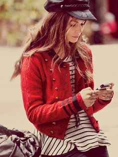 Free People In The Band Textured Jacket at Free People Clothing Boutique