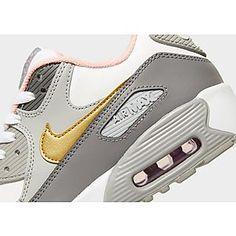 Nike Air Max 90 Junior Air Max 90, Nike Air Max, Air Max Sneakers, Sneakers Nike, Yellow Nikes, Jd Sports, Sport Fashion, Trainers, Footwear