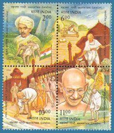 Mahatma Gandhi Commemorative Postal Stamps