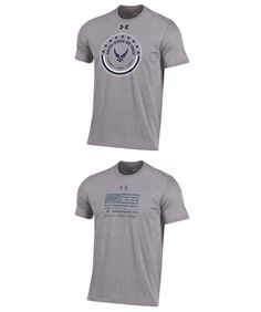 Other Mens Clothing 313: Under Armour Men S U.S. Air Force-Charged Cotton T-Shirt 2 Styles To Choose From -> BUY IT NOW ONLY: $34.99 on eBay!