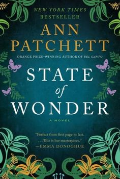 This was a really great novel about doctors going into the rainforest to research. A mysterious death. A little romance. Lots of intrigue. Definitely a good one!