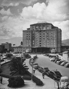 Exterior of Nutibara Hotel. Life Magazine, Places To Go, Exterior, Black And White, Architecture, World, City, Photography, Travel