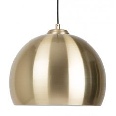 Zuiver Hanglamp Big Glow - Ø27 x H21 cm - Goud kleur #verlichting #lamp…