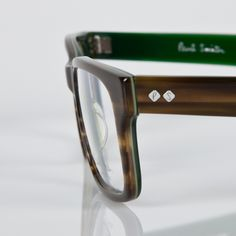 Paul Smith Men's Spectacles – Green Pironi Spectacles - rdsr-psop-pironi-541157-detaild