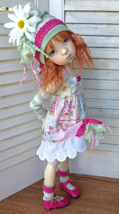 Cute doll by Kaye Wiggs