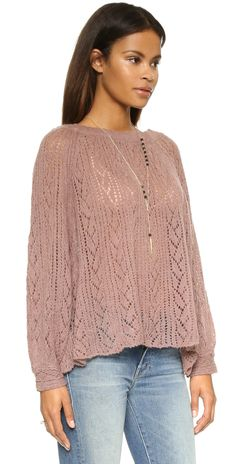 Free People Lights Will Shine Pullover | SHOPBOP
