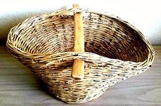 Hand Woven Picnic Basket, Storage Basket, Shopping #furniture #storage @EtsyMktgTool http://etsy.me/2g56wHu