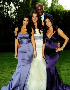 We can be like the Kardashians!!! only Kyle isn't black...but we definitely have the Kardashian curves :) Love yall!