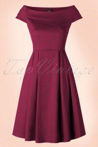 Dolly Do Marcia Purple Boatneck Dress 102 40 17223 20160111 0009W