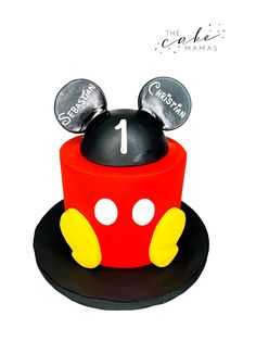 Simple Mickey Mouse First Birthday Cake. Call or email to order your celebration cake today. Click visit to learn more. Mickey Mouse First Birthday, Mickey Mouse Cake, First Birthday Cakes, Disney Themed Cakes, Light Cakes, Cakes Today, Cupcake Wars, Celebration Cakes, Custom Cakes