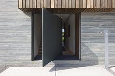 Architectuurfoto's en interieurfoto's van een moderne woning ontworpen door architecte Anja Vissers. © foto's Liesbet Goetschalckx