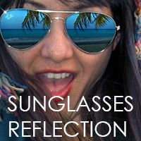 How to Add Reflections To Sunglasses With Photoshop