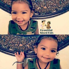 Alani - 17 Months • Mom: African American • Dad: Indian & Fijian ❤
