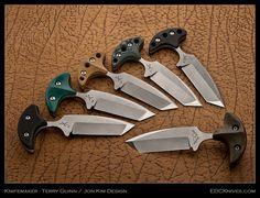 EDC Knives - Terry Guinn