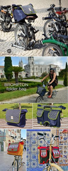 Folder Front Bag for #Brompton | Happy Bicycle Store