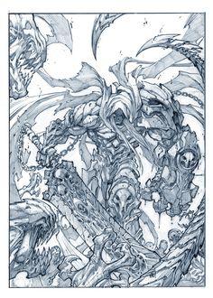 Darksiders//Joe Madureira/M/ Comic Art Community GALLERY OF COMIC ART