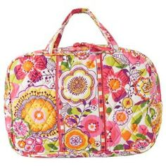Sales Vera Bradley Luggage - Grand Cosmetic (Clementine) - Bags and Luggage online - Zappos is proud to offer the Vera Bradley Luggage - Grand Cosmetic (Clementine) - Bags and Luggage: Stash your daily needs in this printed Vera Bradley cosmetic bag.