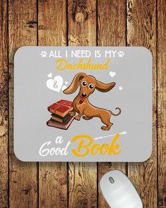 All I Need Is My Dachshund Dog A Good Book Mugs - Ash chiweenie puppy, dachshund training, puppy tips #wirehairdachshund #sausagedog #dogsofinstagram, dried orange slices, yule decorations, scandinavian christmas Dachshund Quotes, Funny Dachshund, Dachshund Puppies, Cat Quotes, Animal Quotes, Chiweenie Puppies, Wire Haired Dachshund, Funny Costumes, Yule Decorations