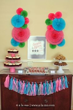Love this Sugar and Spice baby shower!  See more party ideas at CatchMyParty.com!