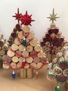 Utilized Grape Corks to buy for use for create tasks like beer connect wreaths, connect timber sheets, wedding ceremony nepotism and more. Wine Craft, Wine Cork Crafts, Wine Bottle Crafts, Cork Christmas Trees, Christmas Crafts, Christmas Decorations, Wine Cork Birdhouse, Wine Cork Art, Wine Corks