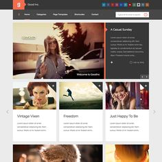 Whether you are looking for a theme for your own website or just interested in new themes, you'll find 30 WordPress themes here to spark your interest.