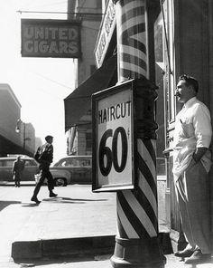 Francois Tuefferd, Haircut for 60 Cents, 1953