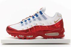"""size 40 551de 14aeb Air Max 95 Hot Red  Nike Air Max 95 """"Doernbecher"""" by Daniel Bair"""