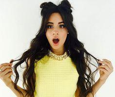 Camila Cabello Space Buns