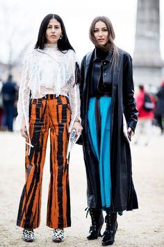 Paris fashion week left us with an abundance of show-stopping street styles.