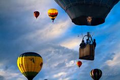 Sky Caravan Hot Air Balloons by Bob Orsillo - Sky Caravan Hot Air Balloons Photograph - Sky Caravan Hot Air Balloons Fine Art Prints and Posters for Sale