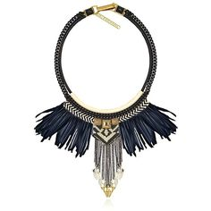 Fiona Paxton Women Astrid Necklace ($370) ❤ liked on Polyvore featuring jewelry, necklaces, accessories, black, black leather necklace, kohl jewelry, black chain necklace, leather jewelry and fiona paxton necklace