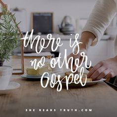 There is no other gospel.