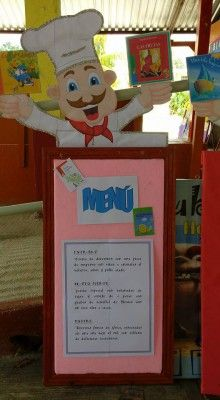 Proyecto Restaurante Literario (3) Summer Preschool Themes, First Day Of School Activities, Preschool Crafts, Cafeteria Bulletin Boards, Food Bulletin Boards, Girls Twin Bed, Kids Cooking Party, School Border, Pretty Little Liars