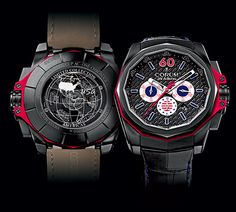 Limited Collection Adopts the Flag Colors of the American Continent CORUM Admiral's Cup AC-One 45 Chronograph Americas (See more at:http://watchmobile7.com/articles/corum-admiral-s-cup-ac-one-45-chronograph-americas) (5/10) #watches #corum @Diana Corum Watches
