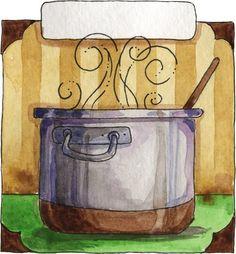 29 Mejores Imágenes De Dibujos Para Decorar Cocinas Kitchen Art