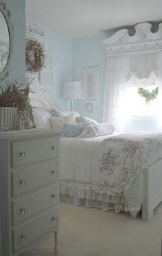 Awesome Schlafzimmer Ideen Shabby Chic that you must know, You?re in good company if you?re looking for Schlafzimmer Ideen Shabby Chic Bedroom Vintage, Shabby Chic Bedrooms, Stylish Bedroom, Chic Home Decor, Home Decor, Master Bedrooms Decor, Shabby Chic Room, Stylish Bedroom Design, Shabby Chic Furniture